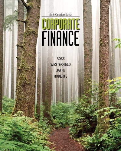9780071091350: Corporate Finance with Connect Access Card, Sixth Canadian Edition [Hardcover]