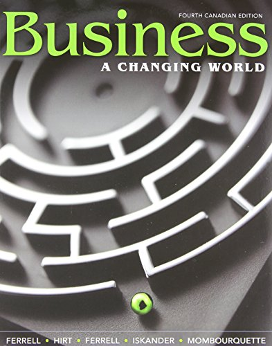 9780071091367: Business: A Changing World with Connect Access Card, Fourth Canadian Edition