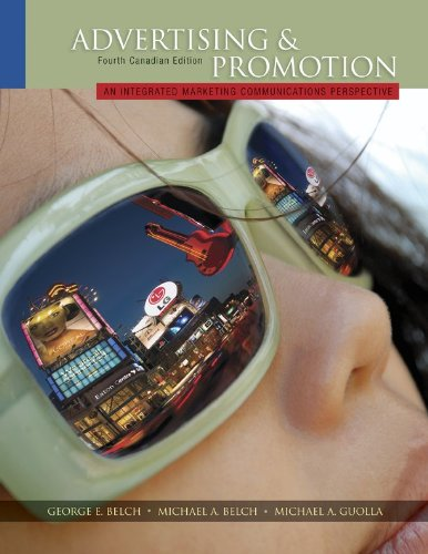 9780071091381: Advertising & Promotion: An Integrated Marketing Communications Perspective, with Connect Access Card Fourth Canadian Edition