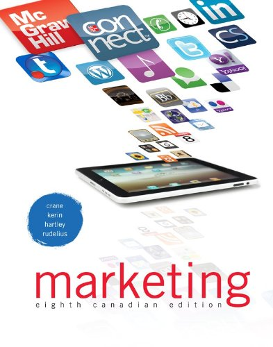 9780071091398: Marketing with Connect Access Card, 8th Canadian Edition