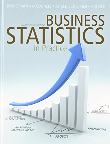 9780071091404: Business Statistics in Practice with Connect Access Card, Second Canadian Edition