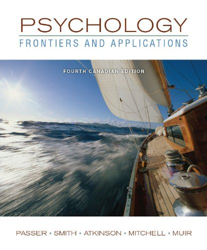 9780071091442: Psychology : Frontiers and Applications, Fourth Canadian Edition + Connect W/eText
