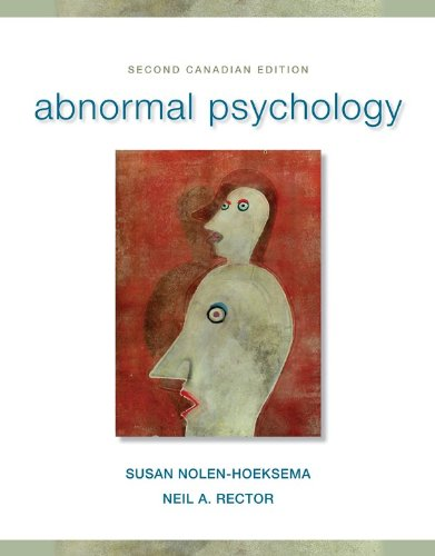 9780071091954: Abnormal Psychology + CONNECT w/etext [Hardcover] by Nolen-Hoeksema, Susan
