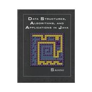 9780071092173: Data Structures, Algorithms, and Applications in Java