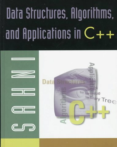 9780071092197: Data Structures, Algorithms and Applications in C++