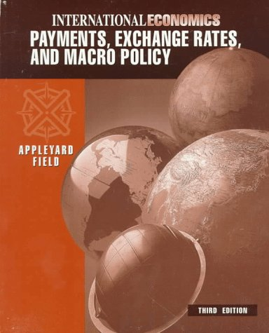 9780071093224: International Economics: Payments, Exchange Rates & Macro Policy