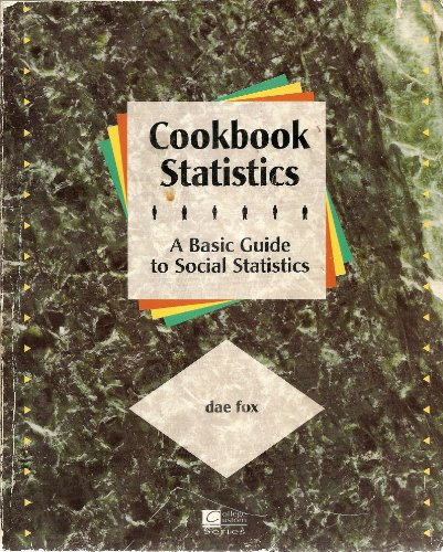 Cookbook Statistics Basic Guide to Stats: Fox, Dae