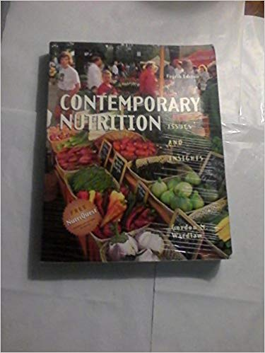 9780071093682: Contemporary Nutrition: Issues and Insights