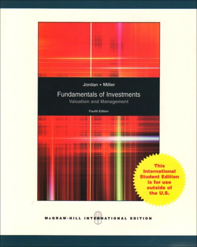 9780071100878: Fundamentals of Investments