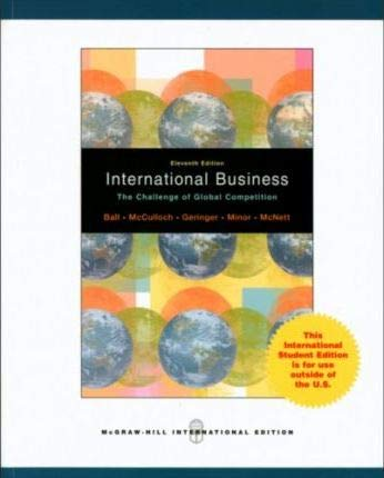 9780071100892: International Business