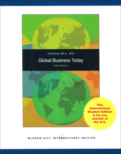 9780071100977: Global Business Today