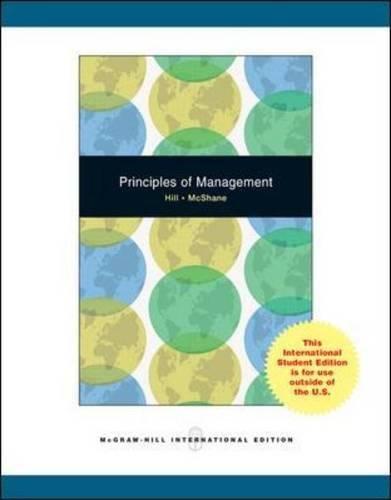 9780071100984: Principles of Management