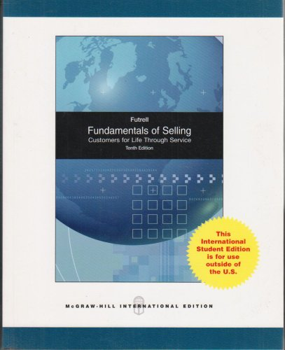 9780071101066: Fundamentals of Selling
