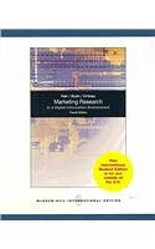 9780071101073: Marketing Research