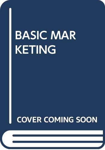 9780071101103: Basic Marketing