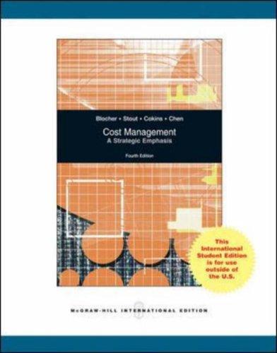 9780071101110: Cost Management: A Strategic Emphasis