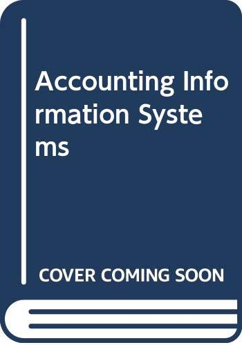 9780071101165: Accounting Information Systems