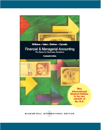 9780071101219: Financial and Managerial Accounting
