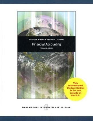 Financial Accounting: Williams, Jan R.;