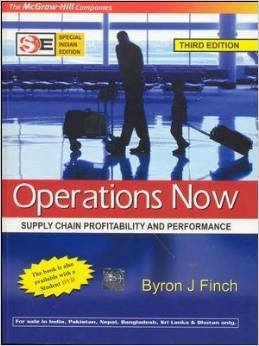 9780071101240: Operations Now: Supply Chain Profitability and Performance