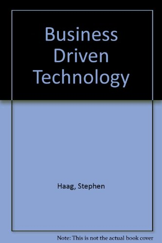 9780071101387: Business Driven Technology