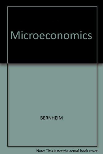 9780071101417: Microeconomics
