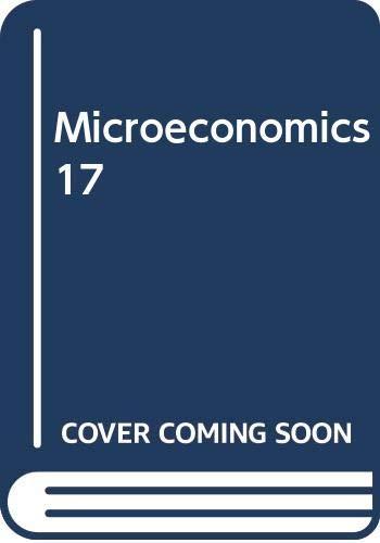 9780071101455: Microeconomics