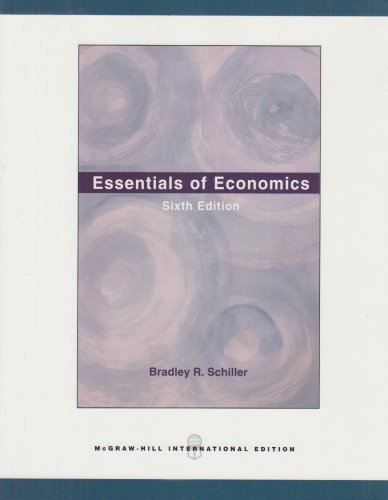 9780071101462: Essentials of Economics