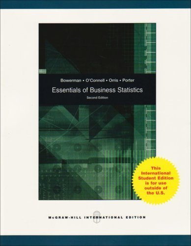 9780071101509: Essentials of Business Statistics