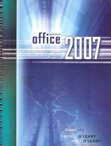 9780071101523: Microsoft Office 2007