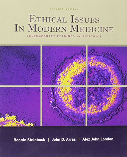 9780071101561: Ethical Issues In Modern Medicine