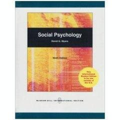 9780071101691: Social Psychology (9th Edition) (International Edition)