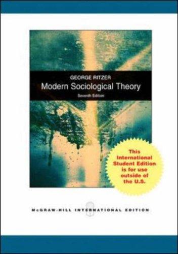 9780071101776: Modern Sociological Theory