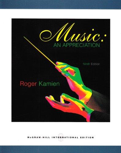 9780071101790: Music: An Appreciation