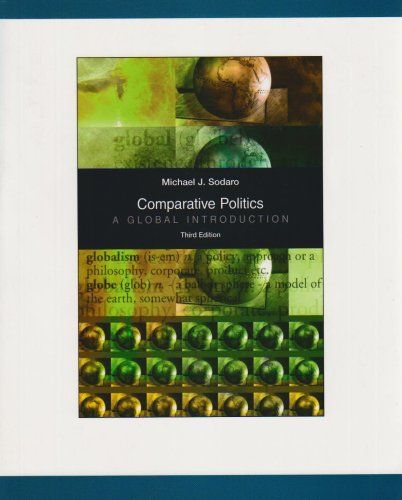 9780071101813: Comparative Politics: A Global Introduction