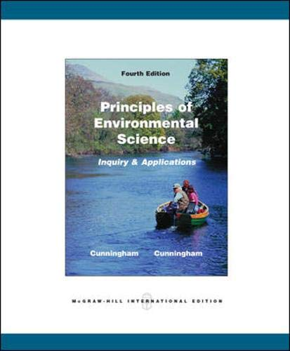 9780071101943: Principles of Environmental Science