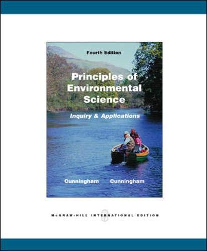 9780071101943: Principles of Environmental Science
