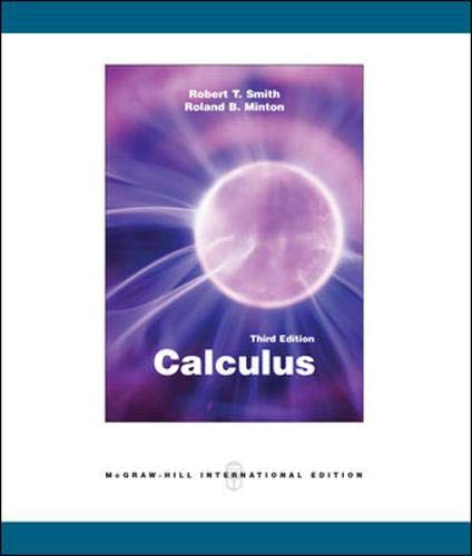 9780071101998: Calculus: Late Transcendental Functions