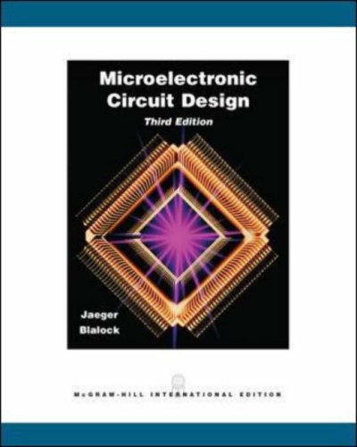 9780071102032: Microelectronic Circuit Design