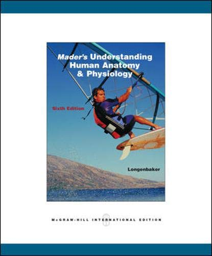 9780071102087: Mader's Understanding Human Anatomy and Physiology