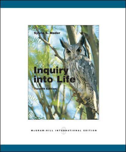 9780071102131: Inquiry into Life
