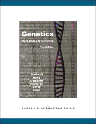 9780071102155: Genetics: From Genes to Genomes 3.e