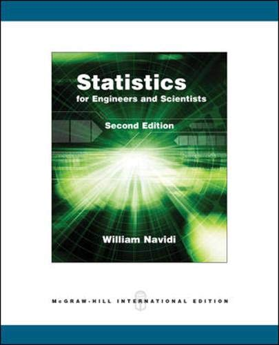 9780071102223: Statistics for Engineers and Scientists, International Edition