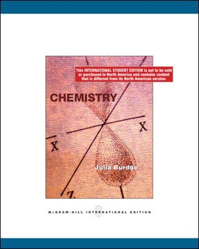 9780071102247: Chemistry. Julia Burdge, Raymond Chang