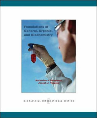 9780071102278: Foundations of General, Organic, and Biochemistry