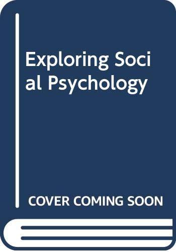 9780071103008: Exploring Social Psychology