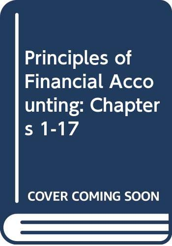 9780071103114: Principles of Financial Accounting: Chapters 1-17