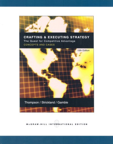 9780071103176: Crafting and Executive Strategy: WITH OLC Access Card