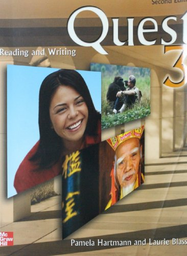 9780071104289: Quest: Reading and Writing in the Academic World: Bk. 3 (College Ie Overruns)
