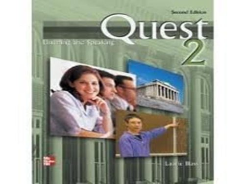 9780071104302: Quest: Listening and Speaking in the Academic World: Bk. 2